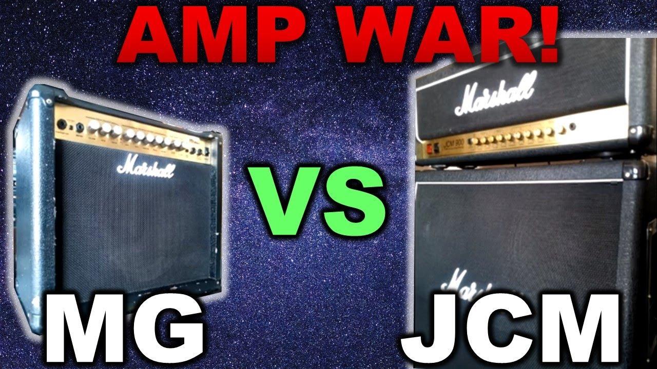 cheap vs expensive amp aka solid state vs tube aka mg vs jcm youtube. Black Bedroom Furniture Sets. Home Design Ideas