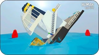 TITANIC EN HUMAN FALL! BEBE VITA HUNDE EL BARCO CON ADRI ROLEPLAY FLAT GRACIOSO BUGS