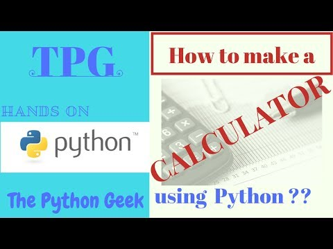 How to make a calculator using Python ??  Best Python Calculator