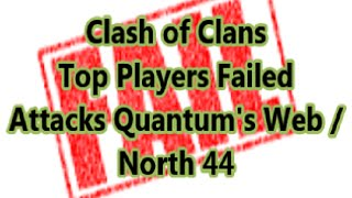 Clash of Clans - Top Player Fails (Learning from mistakes) and effective Champion bases