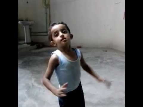 Kid dance funny enama song
