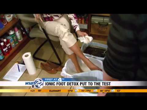 MOMS FIRST: Ionic Foot Detox Put To The Test