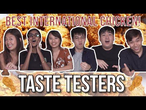 Best International Chicken in SG! | Eatbook Taste Testers | EP 94