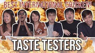 Best International Fried Chicken in Singapore   Taste Testers   EP 93