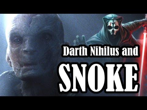 How Supreme Leader Snoke is most like Darth Nihilus