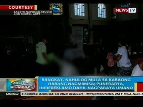 BP: Bangkay, Nahulog Mula Sa Kabaong Habang Nagmimisa