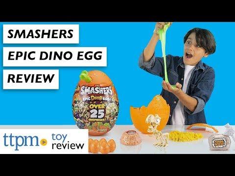 Unboxing Smashers Epic Dino Egg From Zuru