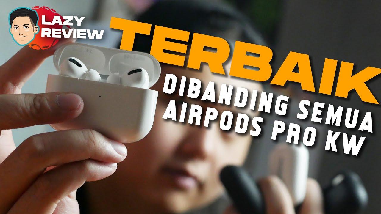 "Download AirPods Pro KW Bisa ""Spatial Audio""? Harganya Ga Sampe Sejuta! - InfinitePods Pro   Lazy Review"