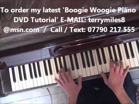 KANSAS CITY WILBERT HARRISON BOOGIE WOOGIE PIANO TUTORIAL FOR BEGINNERS