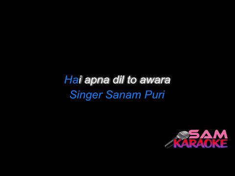 Hai Apna Dil Unplugged Sanam Puri Karaoke sam Karaoke