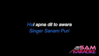 Hai Apna Dil Unplugged Karaoke Sanam Puri