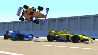 BeamNG DRIVE Random Vehicles Crash Testing Part 6