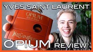 review Yves Saint Laurent OPIUM original formulation