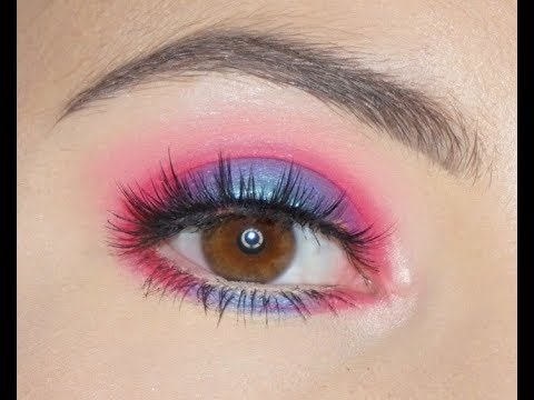 Colorful Spring Makeup  BH Cosmetics Weekend Festival  Brianna Mae
