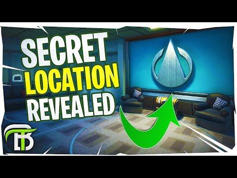 *NEW* SECRET UNDERGROUND LOCATIONS IN FORTNITE SEASON 4 (Secret Mansion)