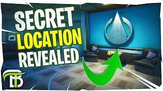 'NEW' SECRET UNDERGROUND LOCATIONS IN FORTNITE SEASON 4 (Secret Mansion)