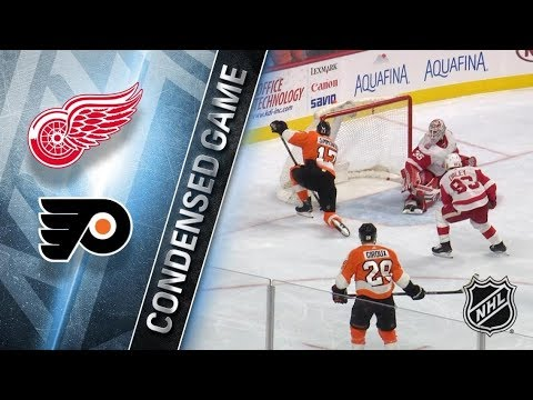 Detroit Red Wings vs Philadelphia Flyers – Dec. 20, 2017 | Game Highlights | NHL 2017/18.Обзор матча