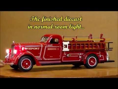 LaFrance fire truck