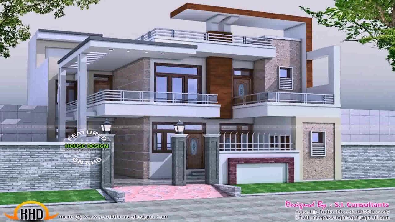 Indian 2 Floor House Design - YouTube