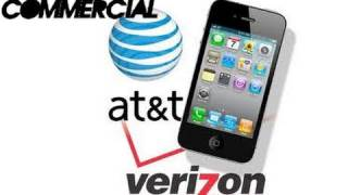 Verizon & AT&T collab in iPhone Commercial