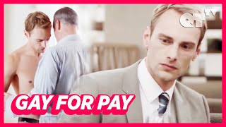 Hot Lawyer Gives Client Special Service But First Time With A Man   Gay Drama   'Fallacy'