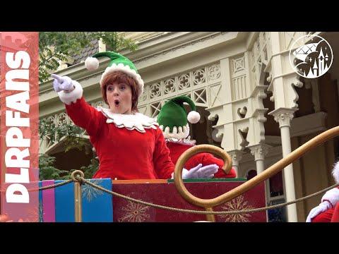 First Christmas Parade 2017 at Disneyland Paris