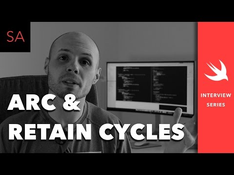 Swift - Retain Cycle, Automatic Reference Counting, Memory Leak - iOS Interview Questions