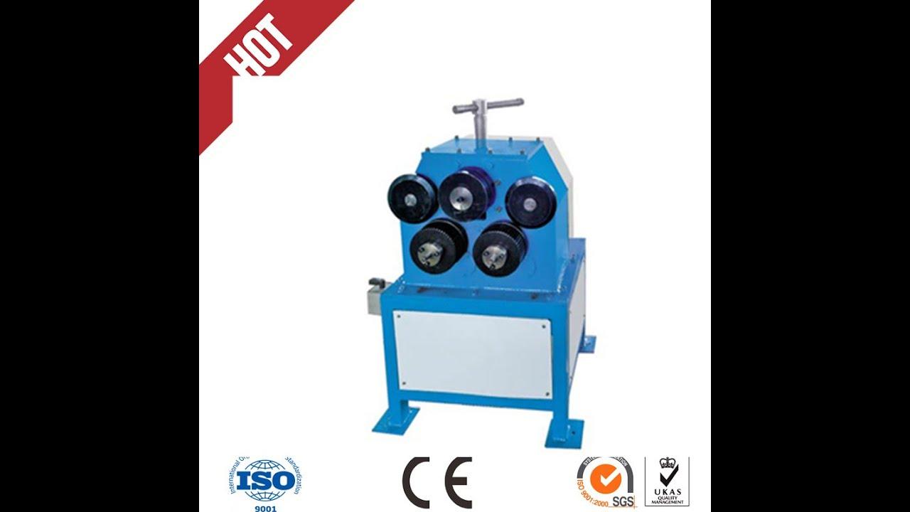 Air duct line Angle iron flange rolling machine/Conducto de aire linea el  angulo de hierro Flange