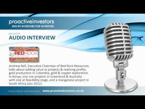Andrew Bell of Red Rock Resources talks to Proactive Investors - January 2012