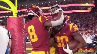 Field-level highlights from USC's win over Arizona