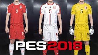 2584cb4d21e PES 2018 - kits Serbia World Cup (18-19) PS4
