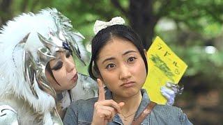 もとみ(徳井青空)に懇願され、ファイヤーレオンのマスクを剛藤タケル...