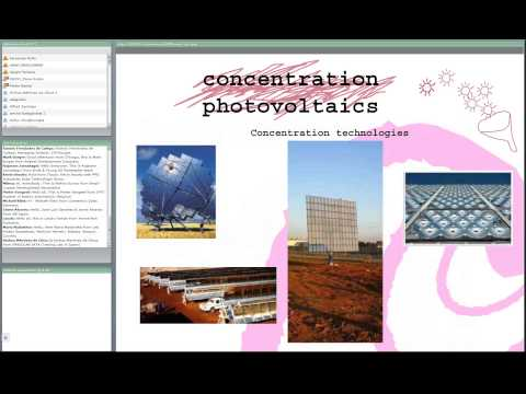 Concentration Photovoltaics : technical & commercial opportu