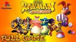Rayman Rush (PlayStation 1) - Full Game 100% Walkthrough - No Commentary