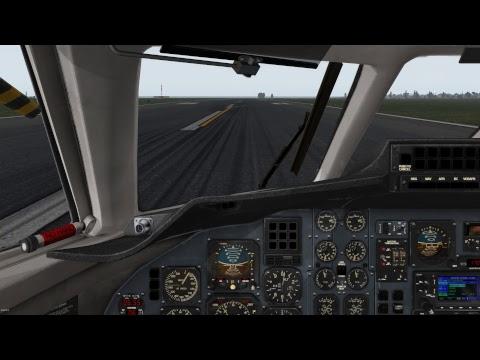 Xplane 11, Jetstream 32 - Morning Charter, KBOS to KACK