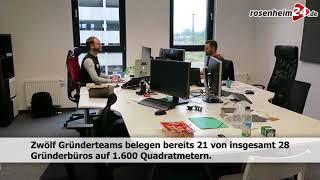 """Einweihung des digitalen Gründerzentrums """"Stellwerk 18"""" in Rosenheiim"""