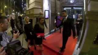 Coleen Rooney Leaving Philip Armstrong Fashion Show