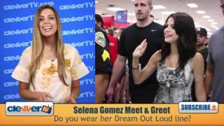 Selena Gomez's Dream Out Loud Fan Meet & Greet