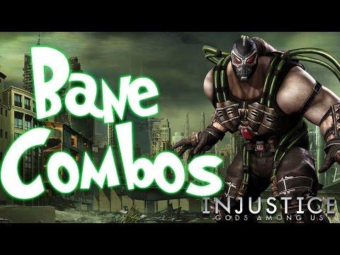 Bane Combos | Injustice Gods Among Us (IGAU)
