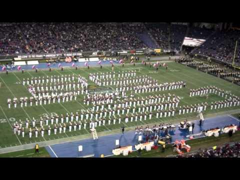 Famous Marron Band Half Time Show Music City Bowl Dec 20, 2011
