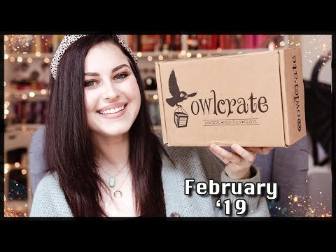 WHIMSICAL BEASTS OWLCRATE UNBOXING FEBRUARY 2019 | Book Roast