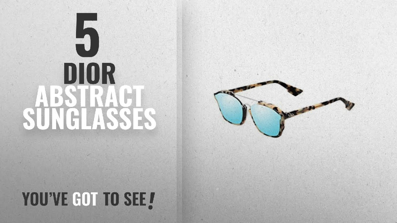 ea42595a7336 Dior Abstract Sunglasses [2018]: Dior Abstract - A4EA4 Tortoise ...