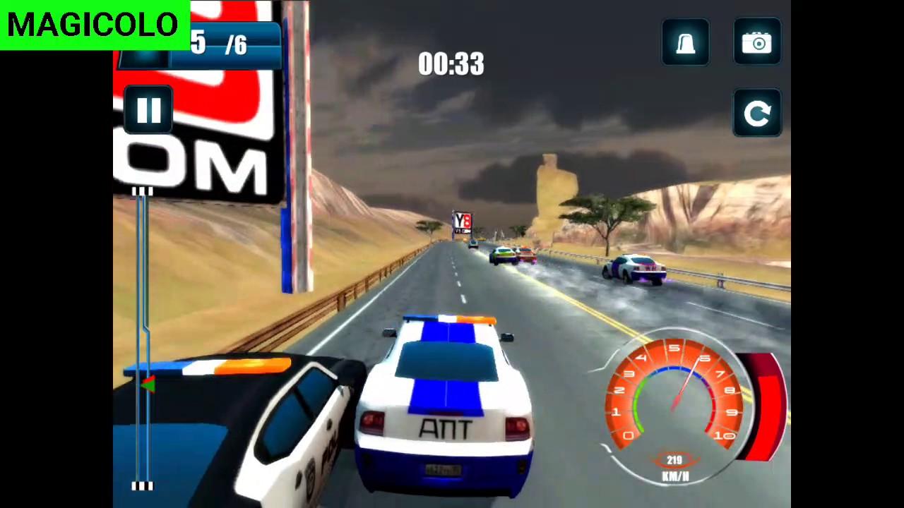 Y8 Games Free Y8 Car Highway Patrol Showdown Youtube