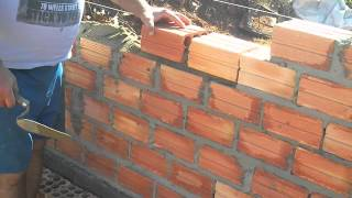 How to build a Brick wall.