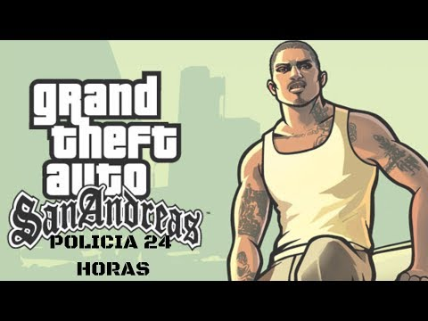 GTA SAN ANDREAS -ONLINE (MTA) POLICIA 24 HORAS