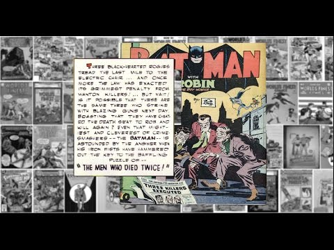 "Batman and Robin"" Worlds Finest Comics #15, ""The man Who Died Twice"""