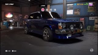 NFS Payback: Volvo 242DL [Offroad Build]