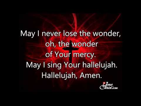 Mercy By Matt Redman With Lyrics