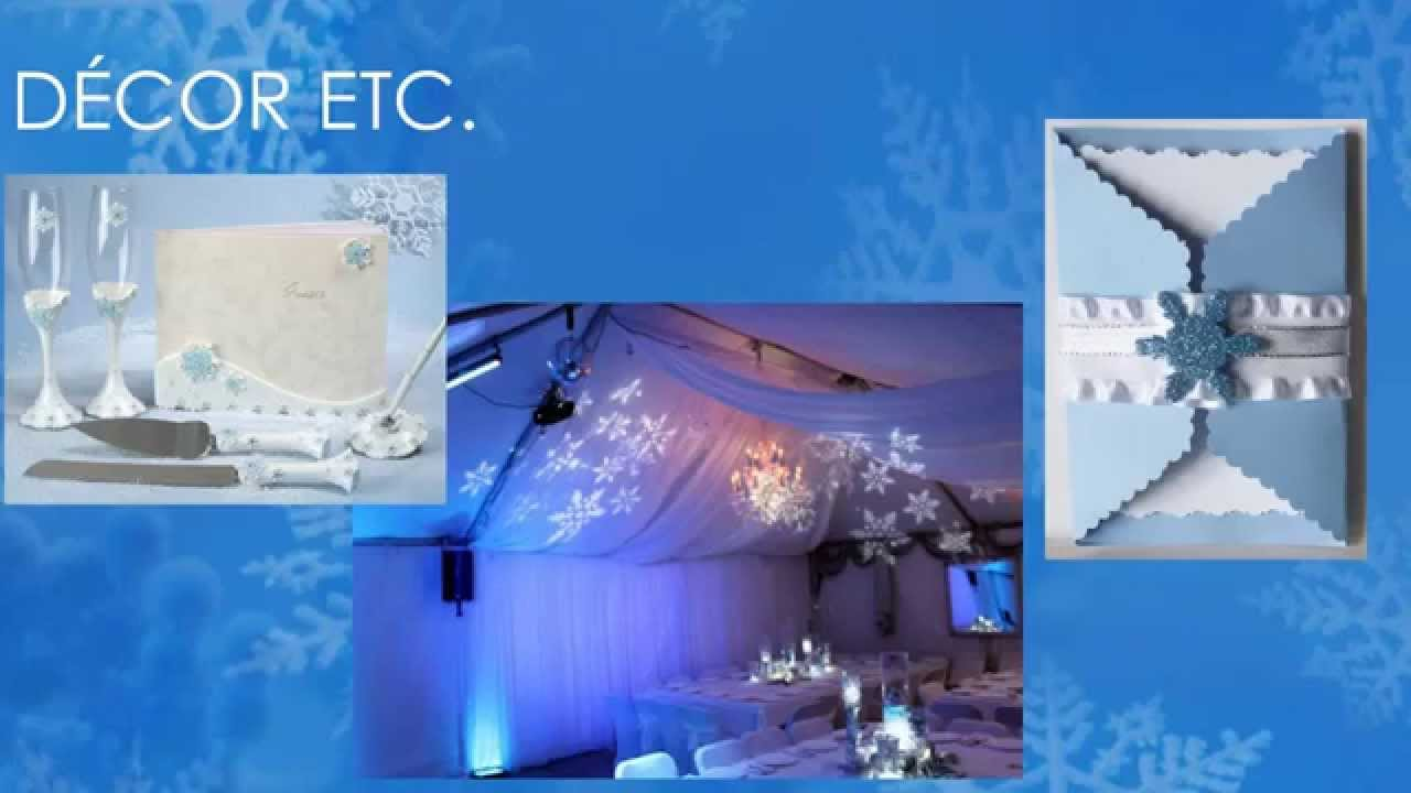 Winter Wonderland Themed Quinceanera By My Quinceanera