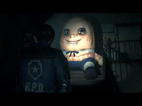 Resident Evil 2 Remake   Creepy Stuffed Doll (Mr. X Mod) + Download